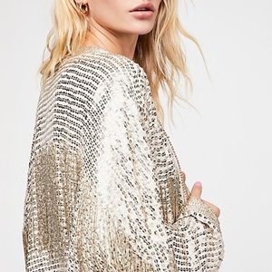 Not for sale!  NWT Free People Valencia Jacket
